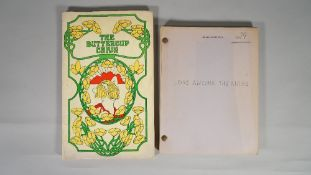 'LOVE AMONG THE RUINS' SCRIPT, 1974, AND 'THE BUTTERCUP CHAIN' SCRIPT,