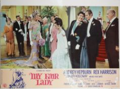 MY FAIR LADY (1964) a group of seven Italian photobusta posters for the Warner Bros.