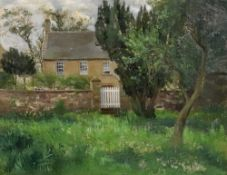 English School, 20th Century, A view of