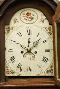 **Hardy; a George III oak longcase clock