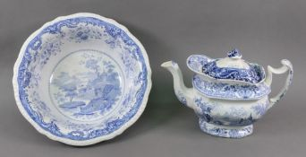 An Opaque china blue and white shaped ci