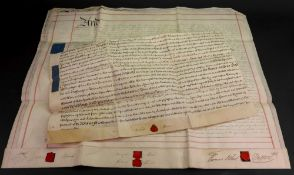 Indenture - Buckinghamshire, 1741 and a