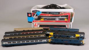 Lima 'OO' gauge locomotives and rolling stock including Billingham Enterprise 47363 & 47528 boxed,