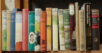Works of Georgette Heyer, D E Stevenson, Nevil Shute and others,