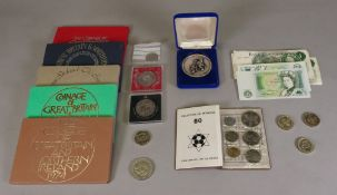 Coinage of Great Britain 1972-1976, cased year sets,