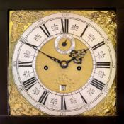 Cor. Herbert London Bridge; an early 18th century longcase clock, the 11.