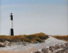 Irwin Goldman (American, 20th Century), Tybee Island, acrylic, 30 x 40cm, Felicity Harwood,