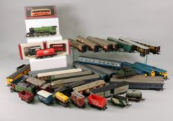 Hornby 'OO' gauge locomotives and rolling stock and a collection of Tri-ang rolling stock,