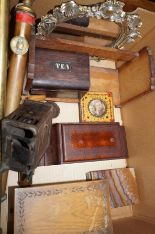 Lot 4 - Interesting box to include tea caddy