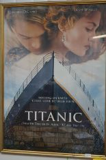 Lot 32 - Titanic poster signed by the actor who played Wall