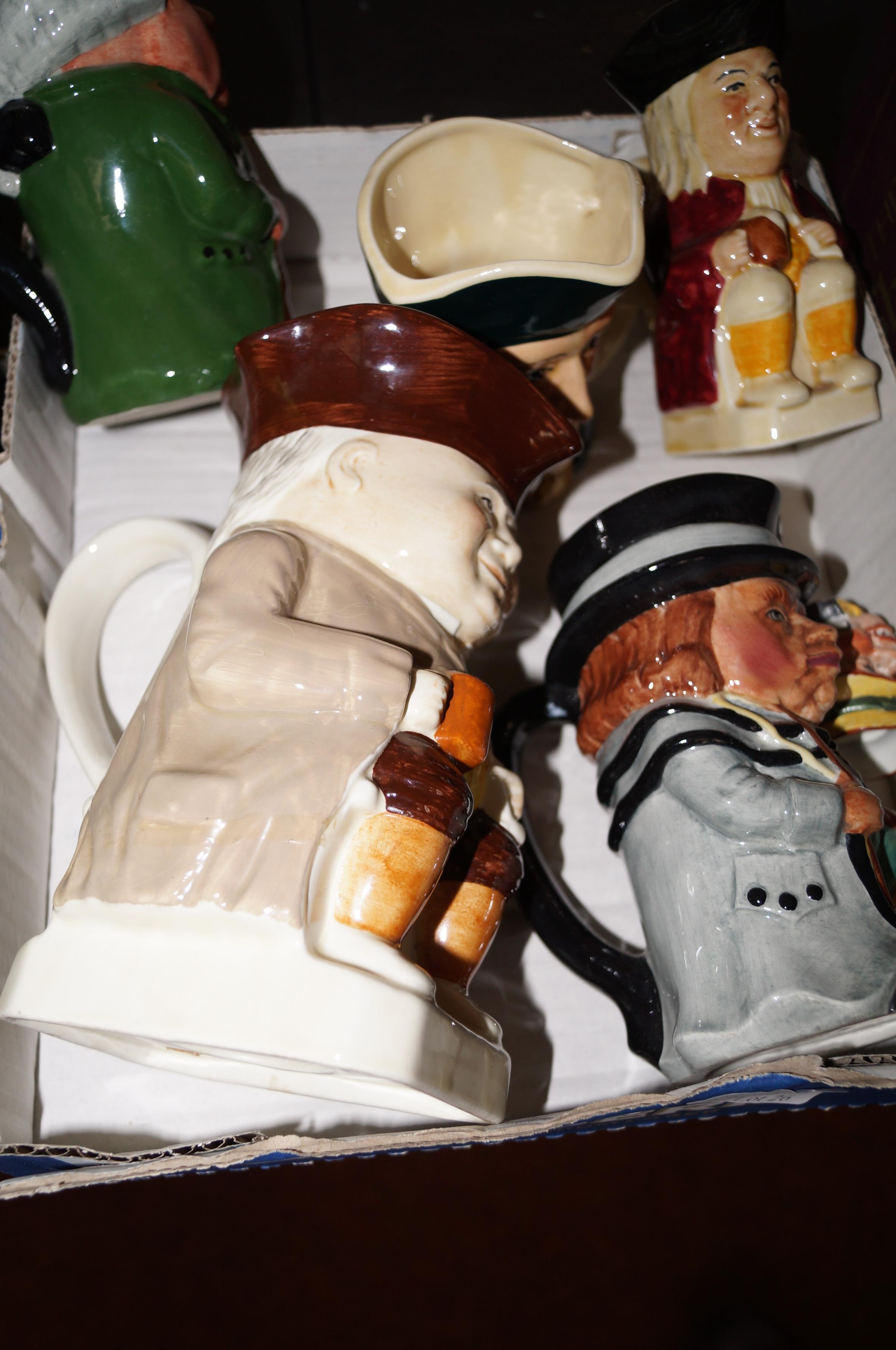Lot 26 - Collection of Toby jugs