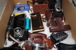 Lot 17 - Vintage cameras and others