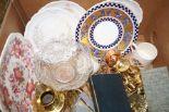 Lot 3 - Ceramics & glass ware