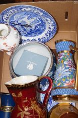 Lot 1 - Ceramics to include Wedgewood, wade & spoode
