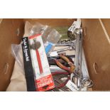 Lot 14 - Box of Hand tools