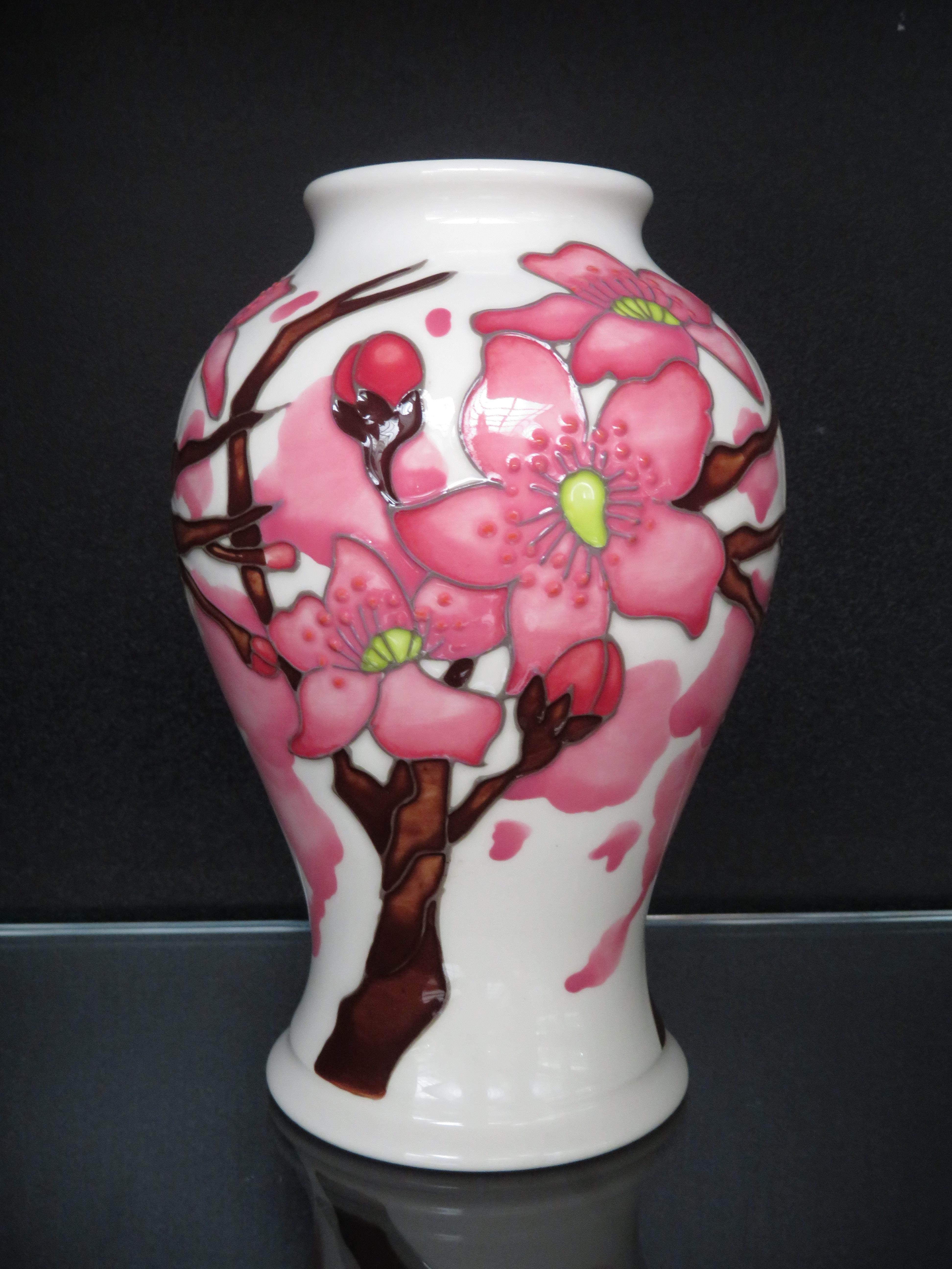 Lot 82 - Moorcroft confetti vase Height 17 cm