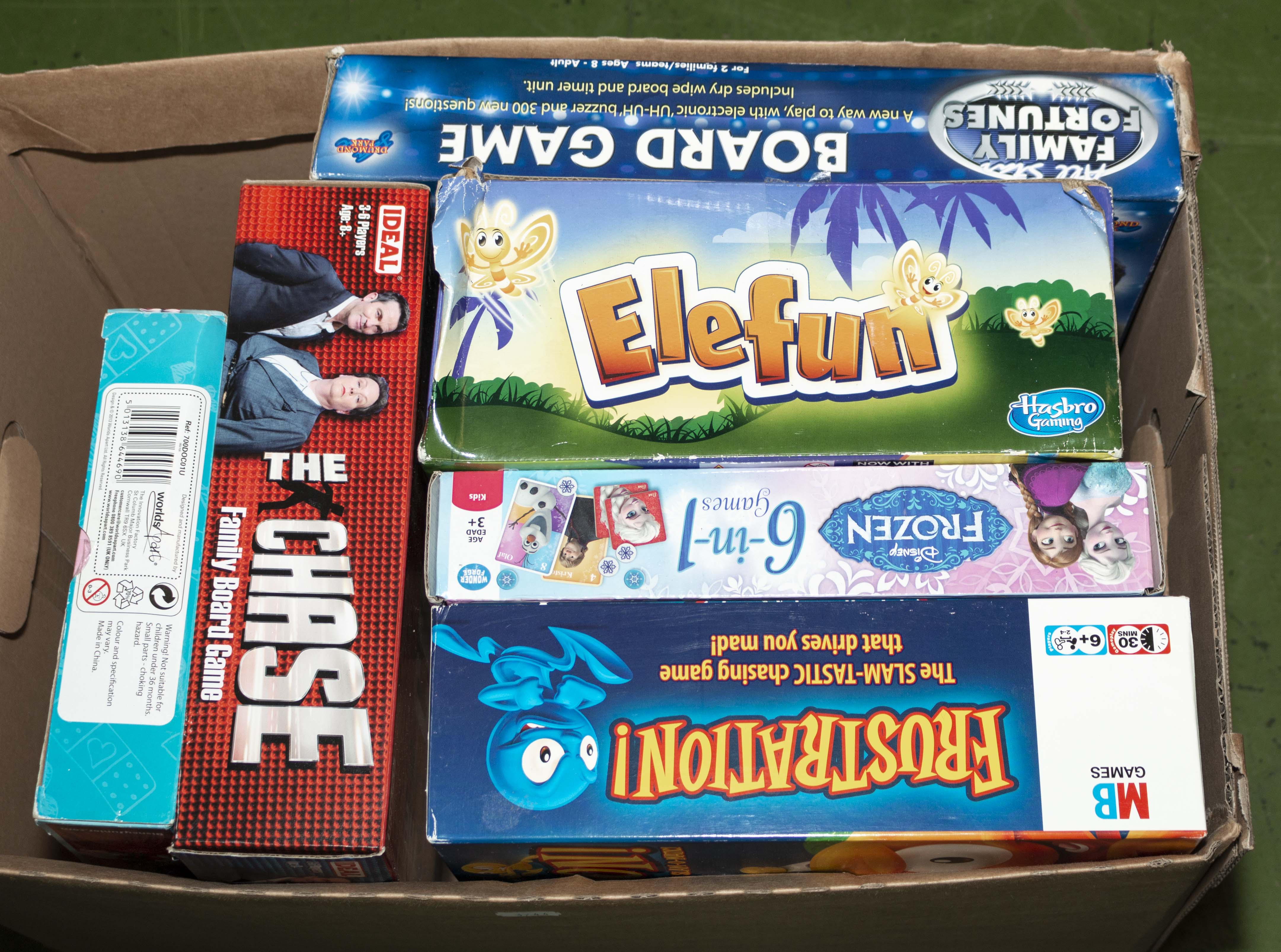 Lot 37 - A selection of children's board games