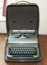 Lot 6 - A portable typewriter