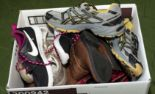 Lot 36 - A box of trainers and shoes