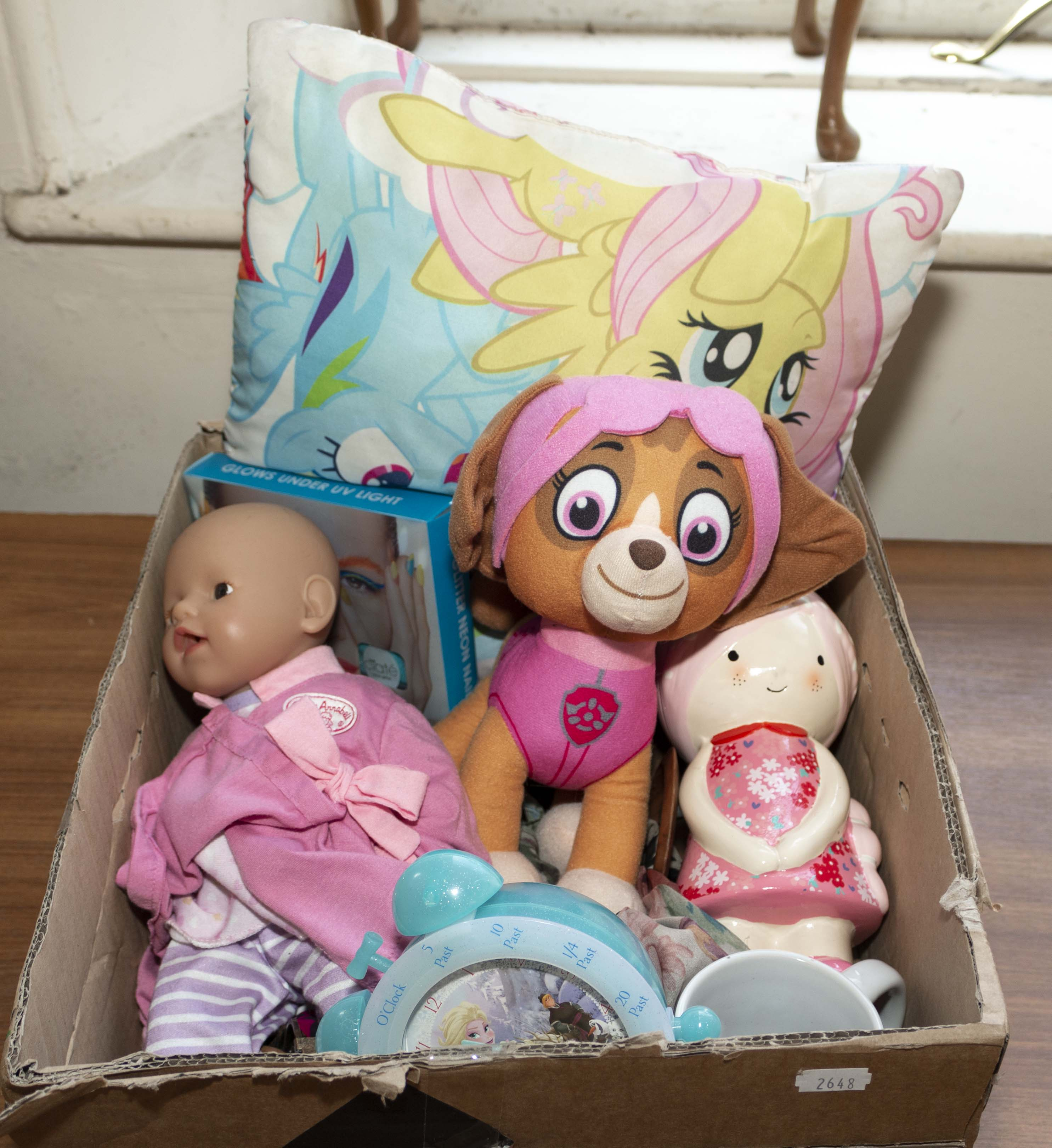Lot 35 - A box of toys