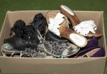 Lot 41 - A box of lady's shoes