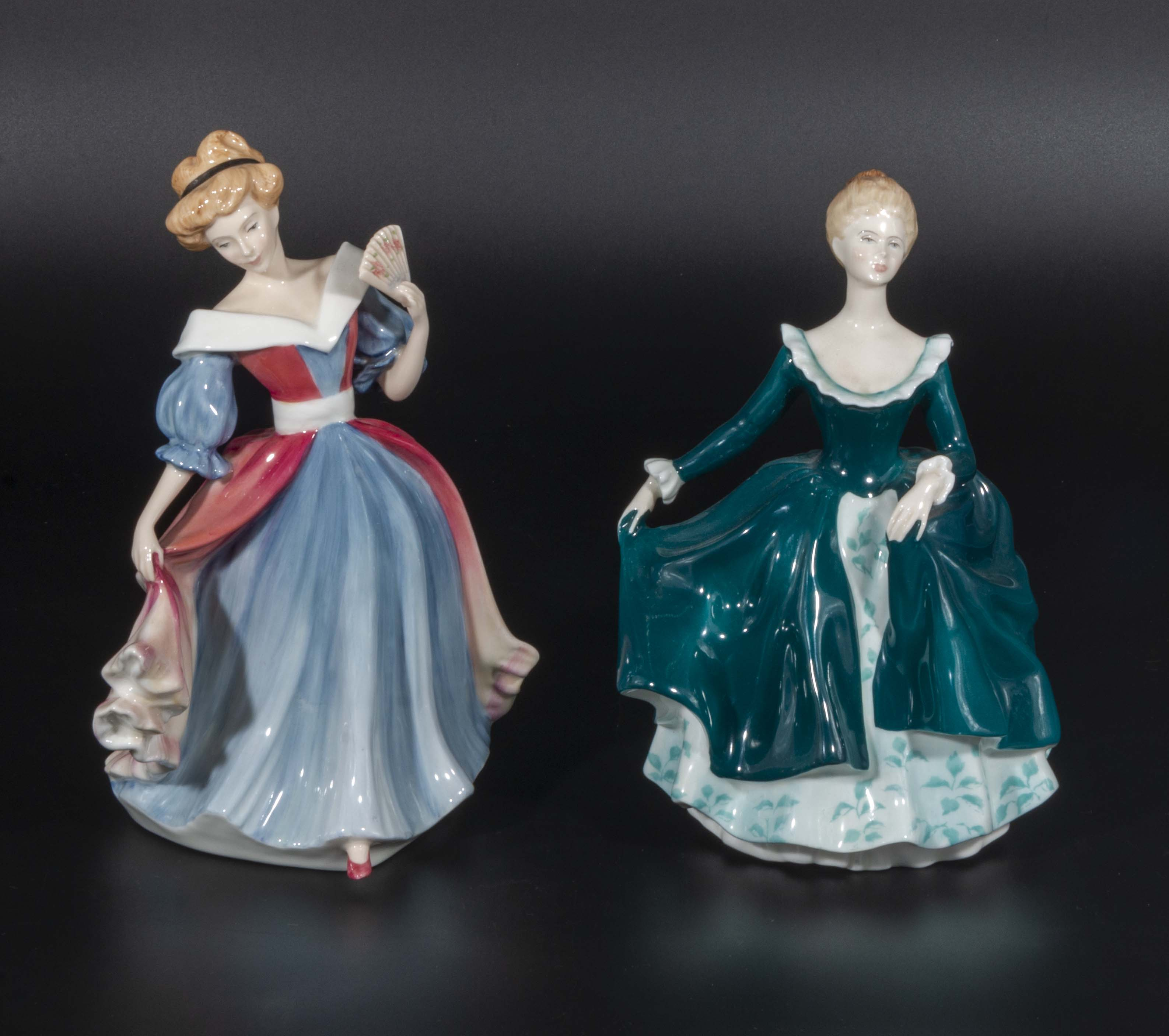 Lot 13 - Two Royal Doulton figures