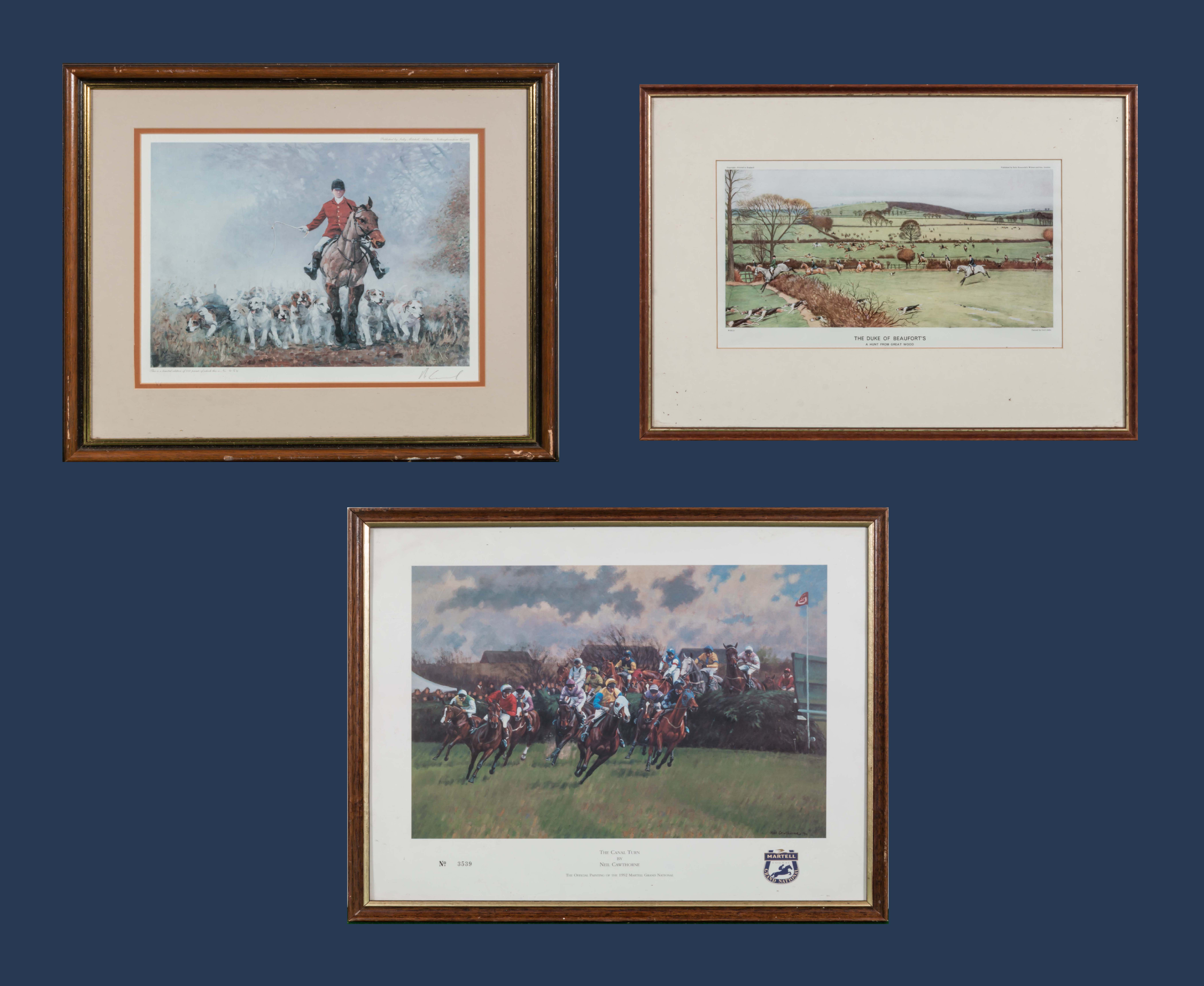 Lot 37 - Two limited edition prints and one other