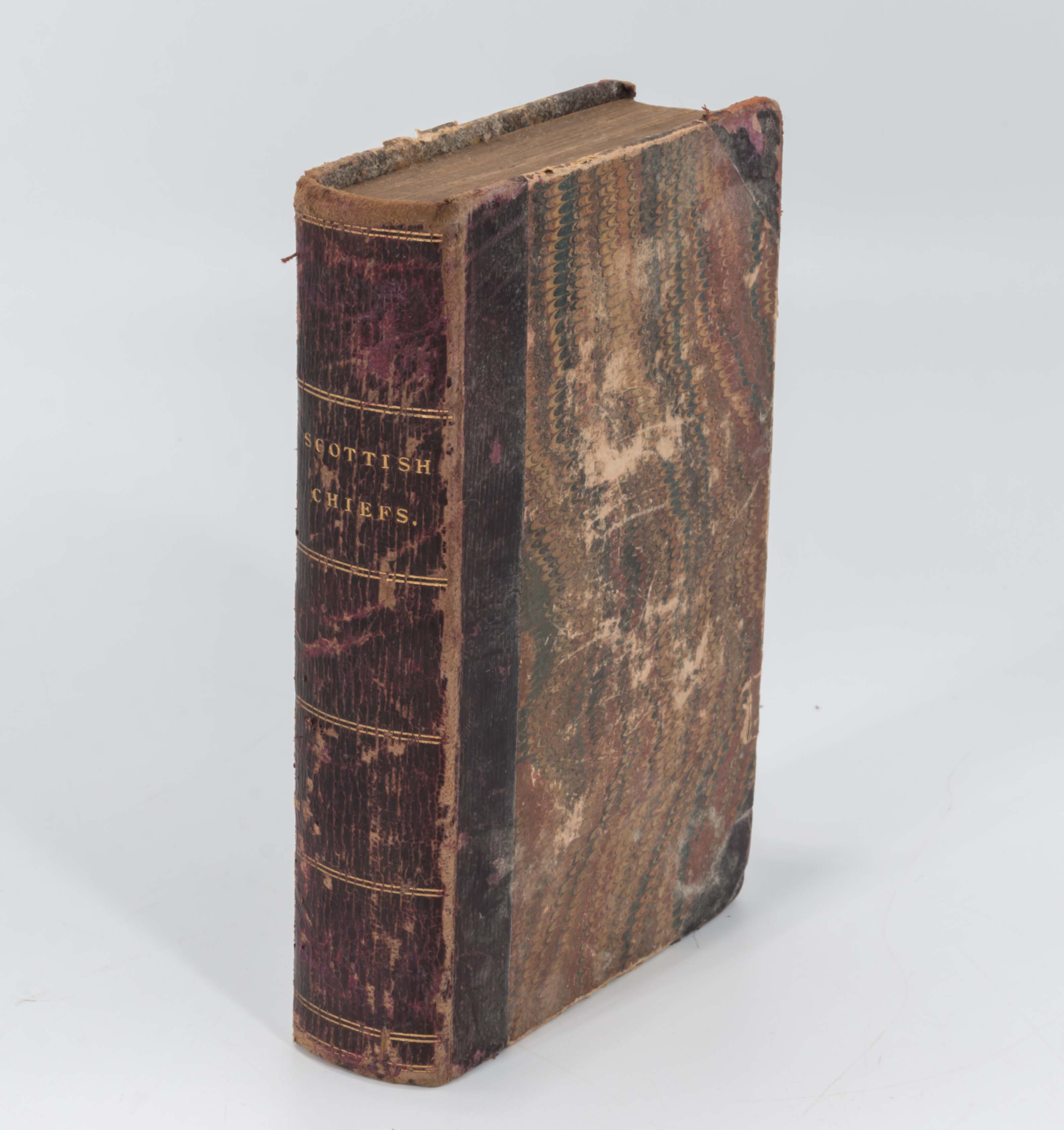 Lot 47A - An edition of Scottish Chiefs by Miss Jane Porter 1855