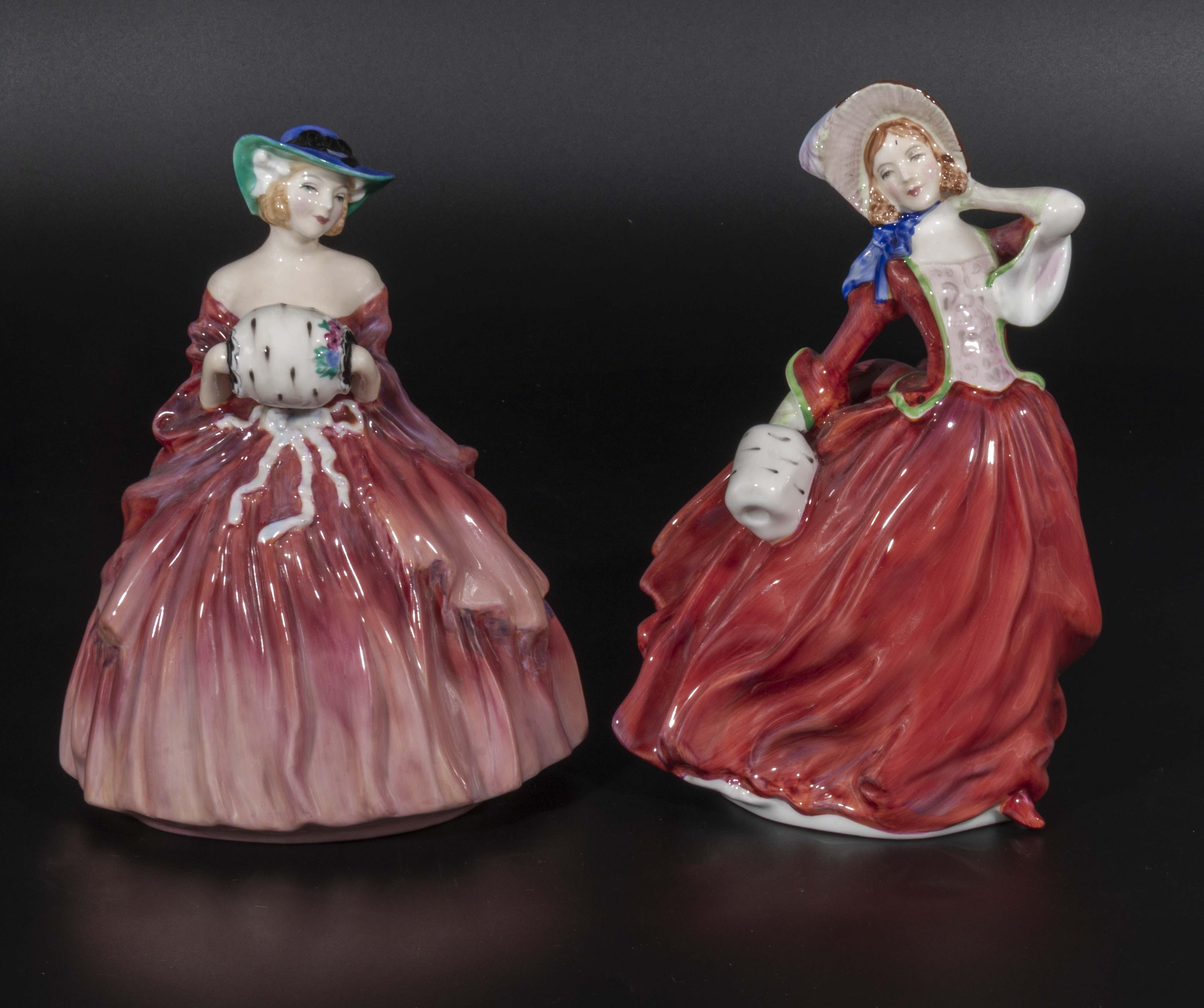 Lot 12 - Two Royal Doulton figures