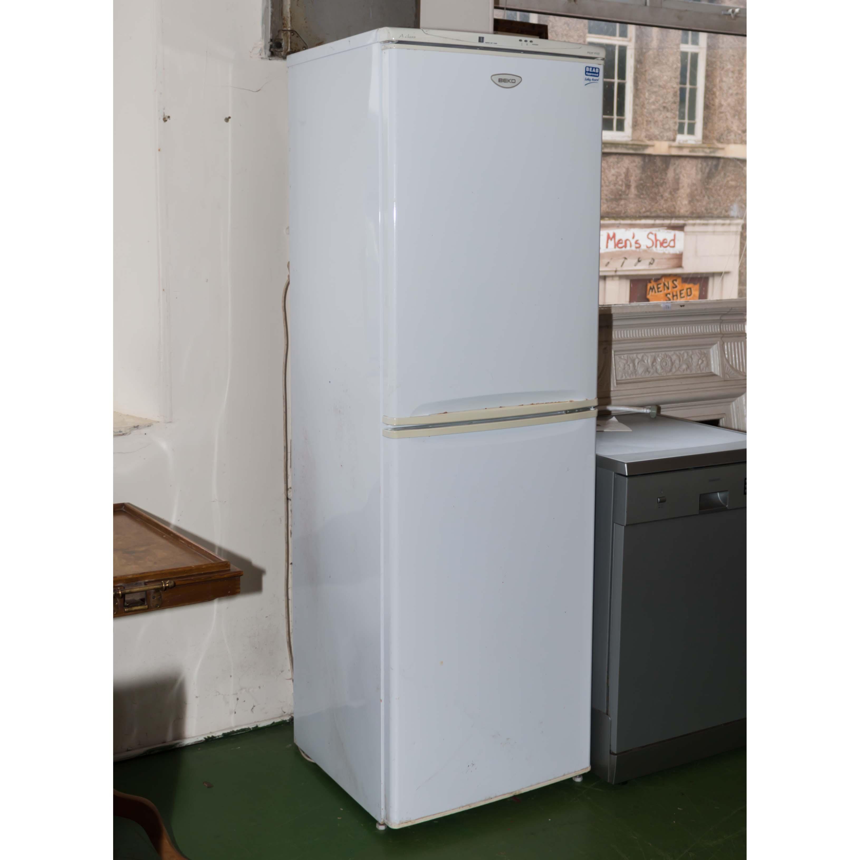 Lot 55 - A Beko fridge freezer