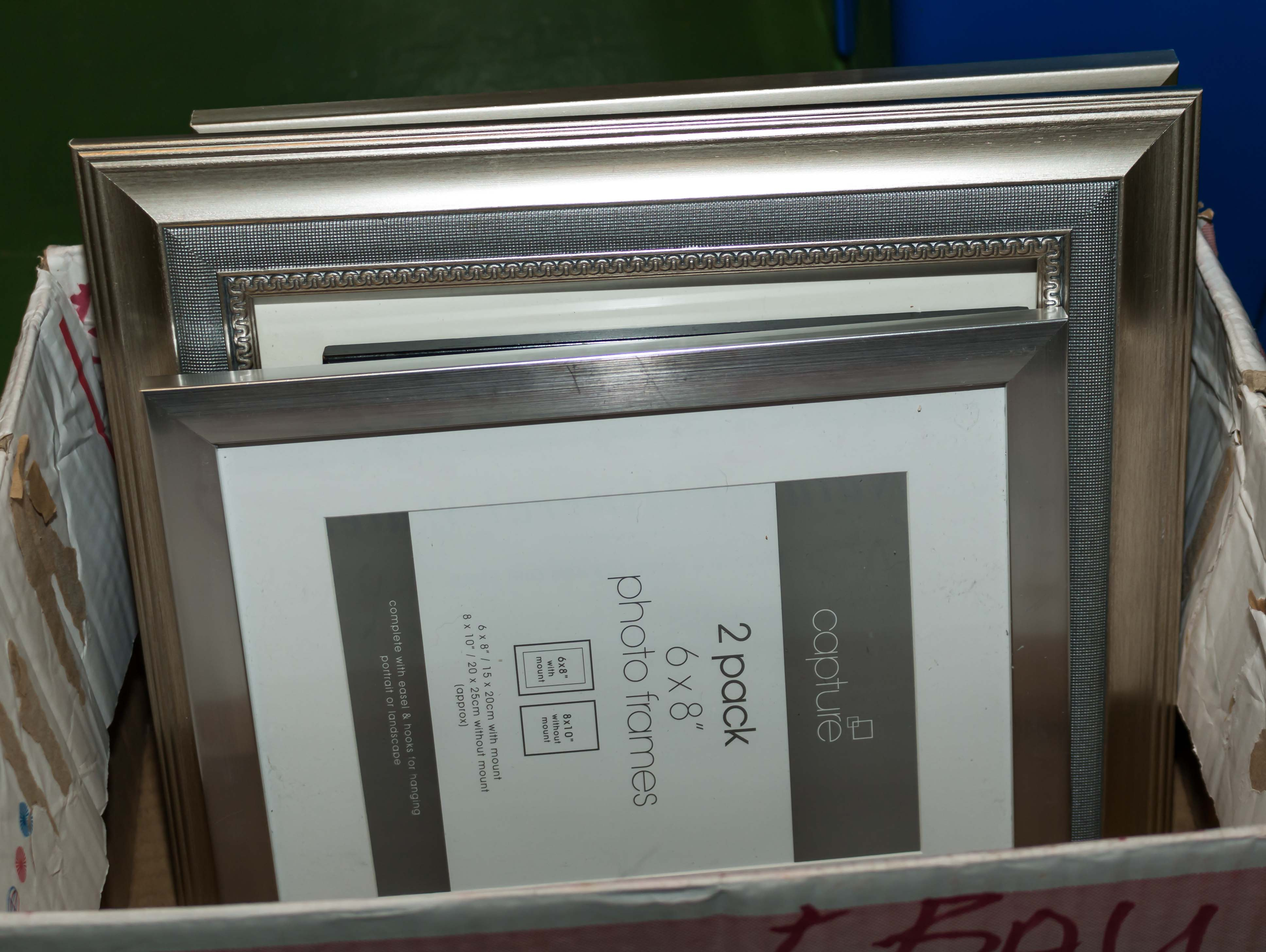 Lot 45 - A selection of picture frames