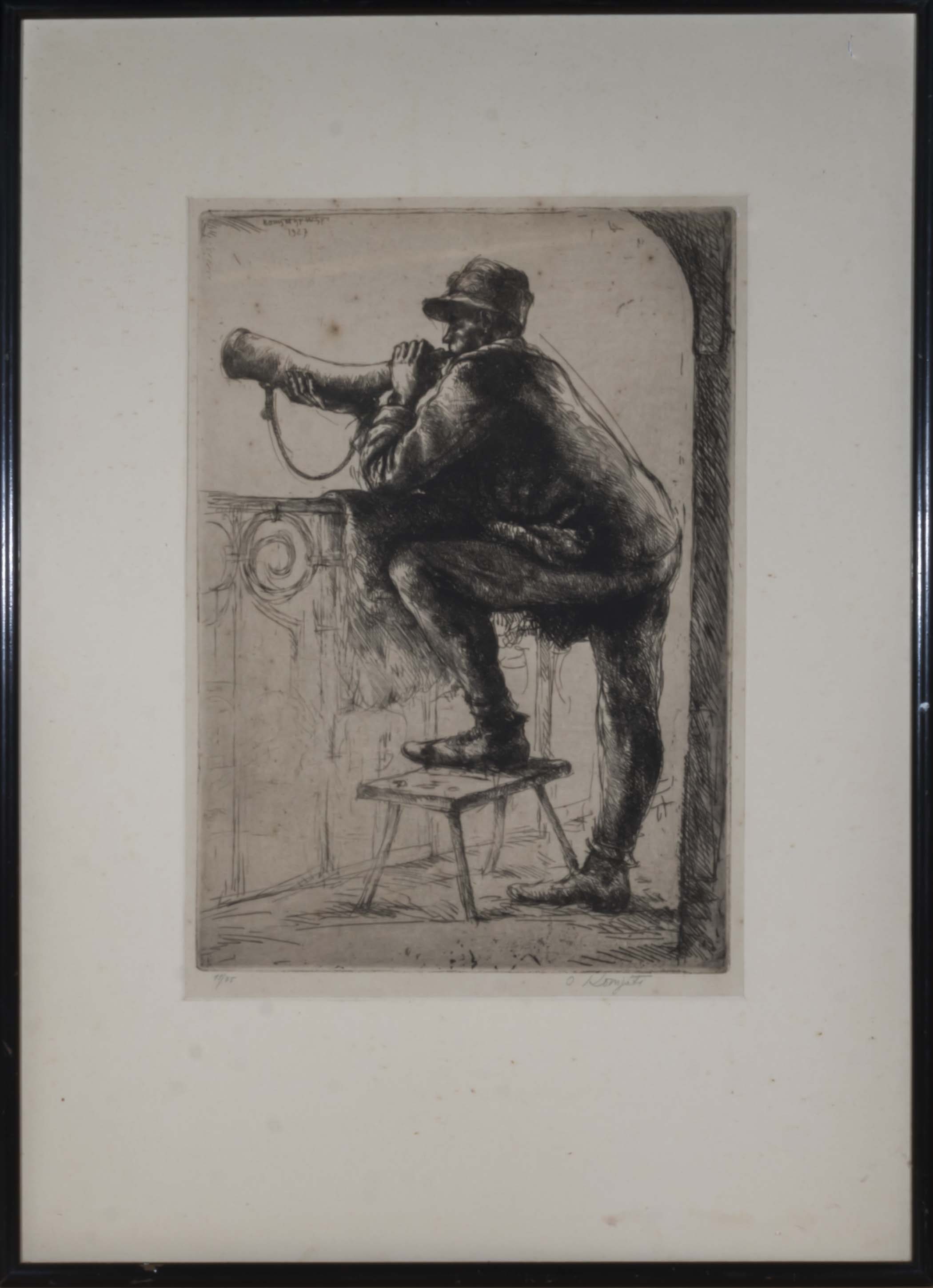 Lot 39 - A limited edition military engraving