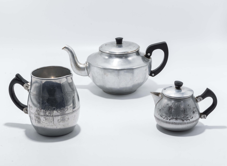 Lot 16 - Co-op Centenary teapot 1859-1959 plus 2 others