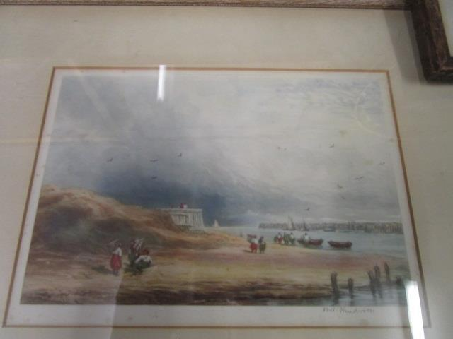 Lot 5 - Will Henderson - Harbour scenes, a pair of coloured prints, signed by the artist in the lower