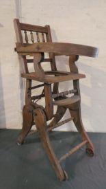 Lot 56 - A Late 19th Century Metamorphic Child's Chair