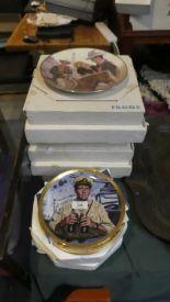 Lot 228 - A Collection of Various Decorated John Wayne Plates