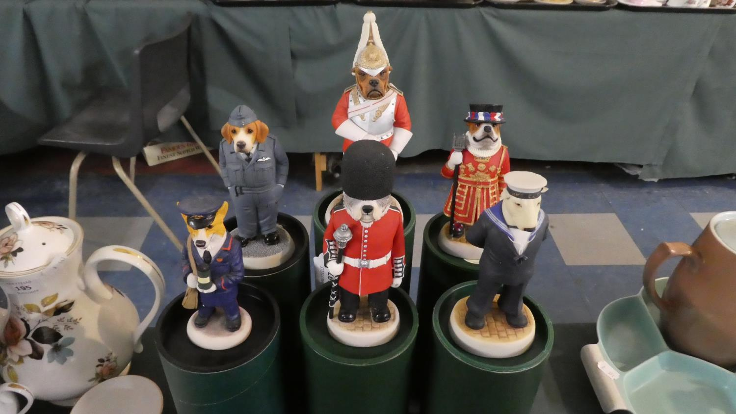 Lot 197 - A Collection of Six Boxed Robert Harrop Country Companion Dog Figures to Include Grenadier Guard,