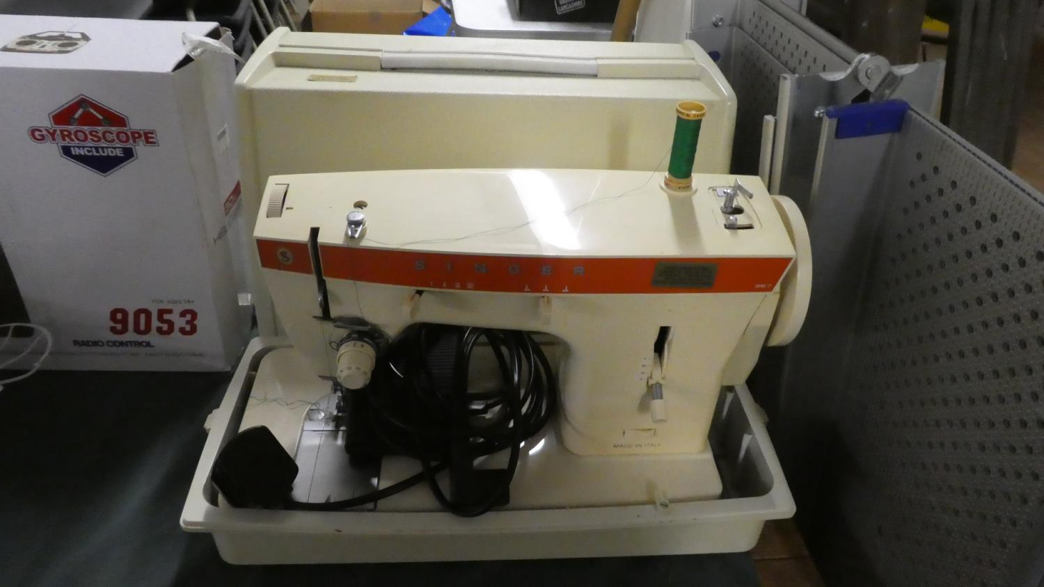 Lot 348 - An Electric Singer Sewing Machine