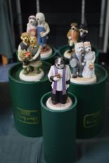 Lot 210 - A Collection of Five Boxed Robert Harrop Country Companion Figures, Couples