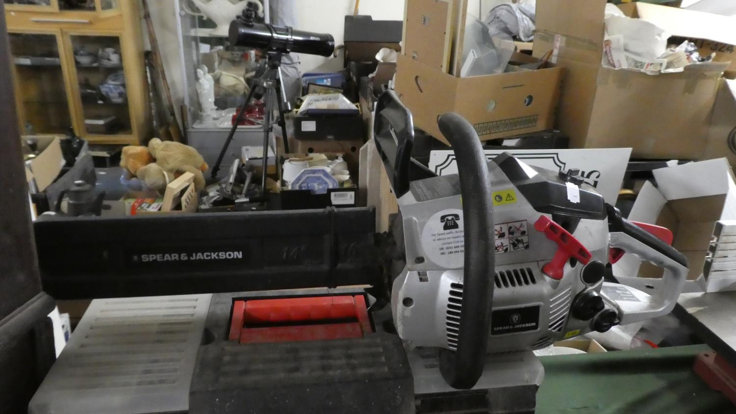 Lot 396 - A Spear and Jackson 112 Petrol Chainsaw