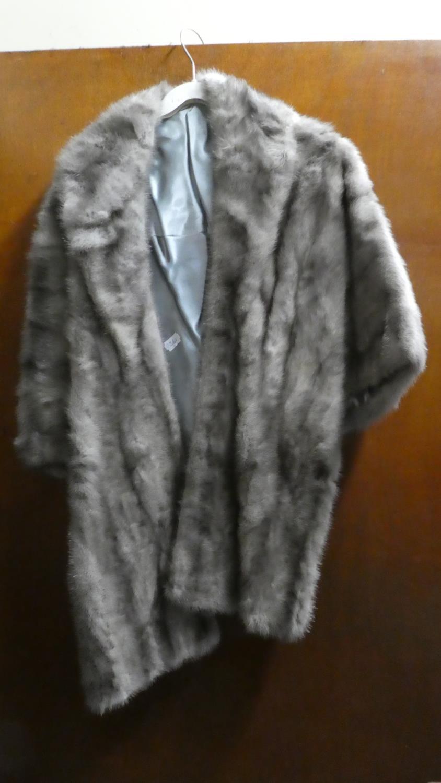Lot 370 - A Vintage Fur Shawl