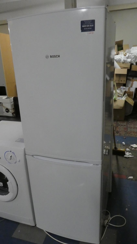 Lot 502 - A Bosch Fridge Freezer