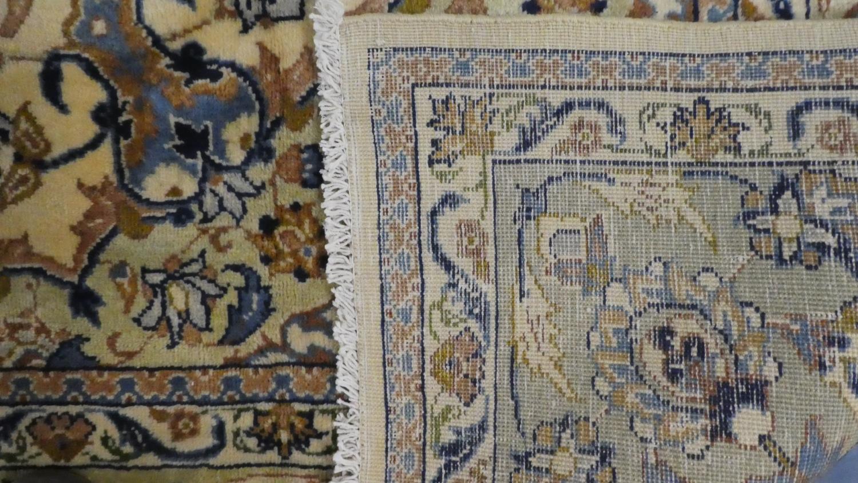 Lot 402 - A Fine Hand Made Persian Kashan Carpet 340x238cms