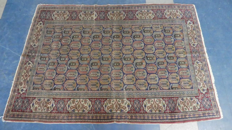 Lot 185 - An Antique Anatolian Handmade Rug. 170x120cms