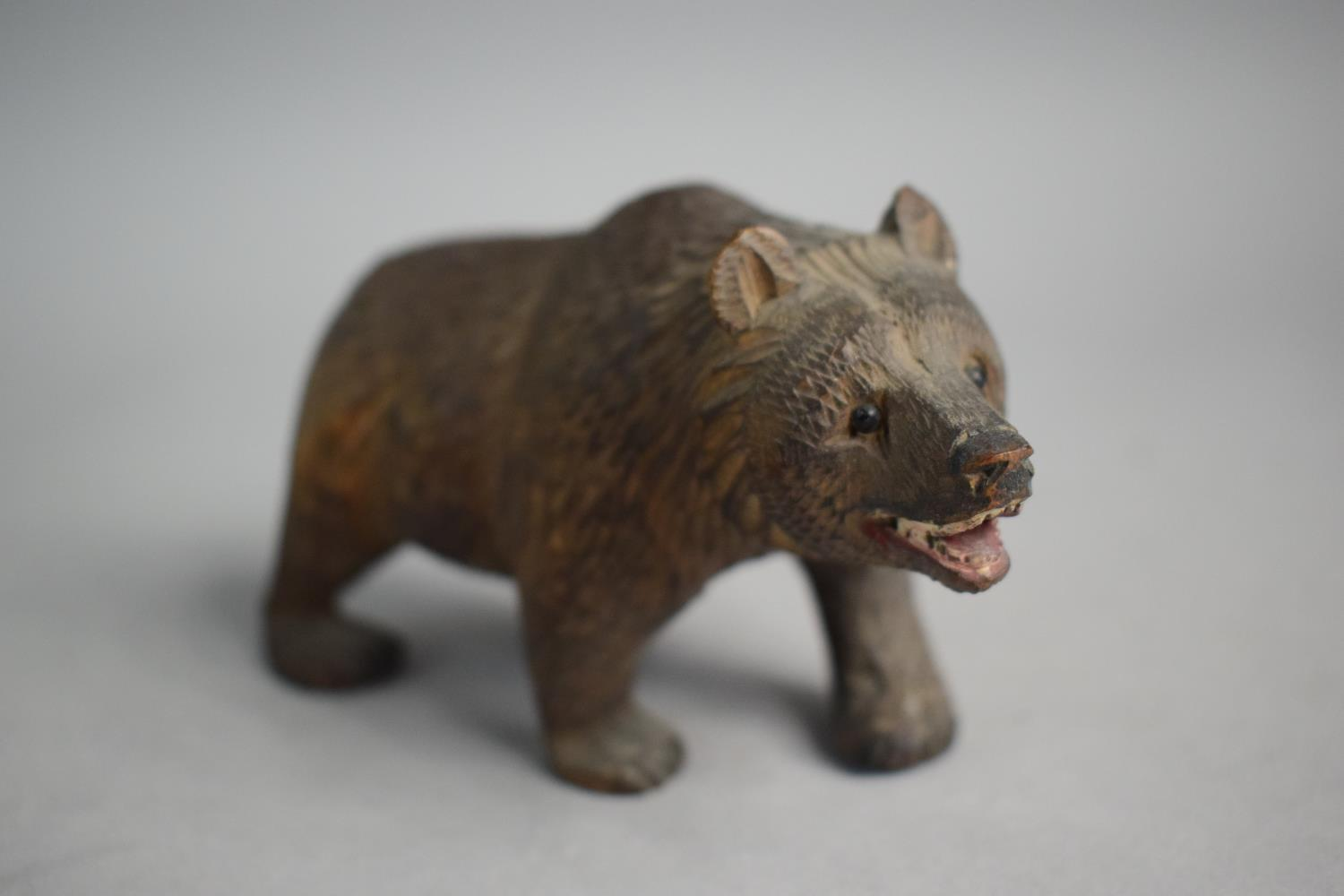 Lot 16 - Two Small Carved Black Forest Bears