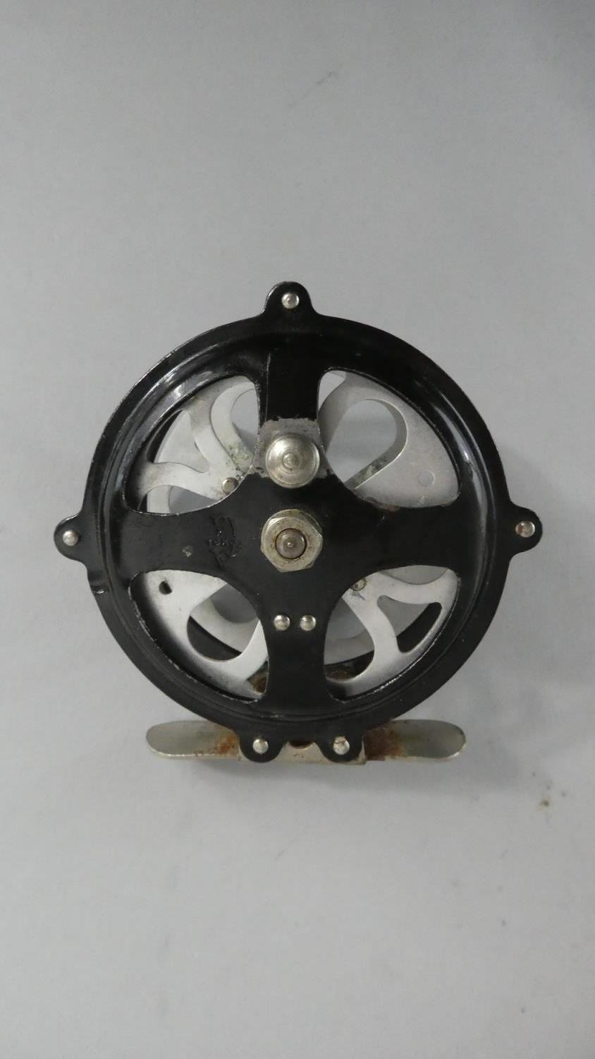 """Lot 107 - A Milwards Magnet Lightning 8' Two Piece Split Cane Fly Reel with Agate Line Guides and a Tomaz 3"""""""