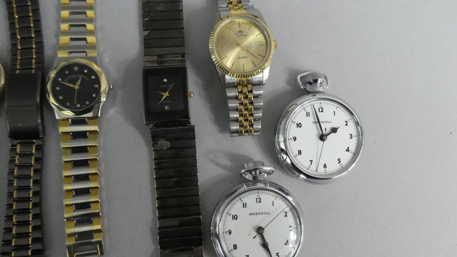 Lot 334 - A Collection of Various Vintage and Replica Wrist Watches and Pocket Watches.
