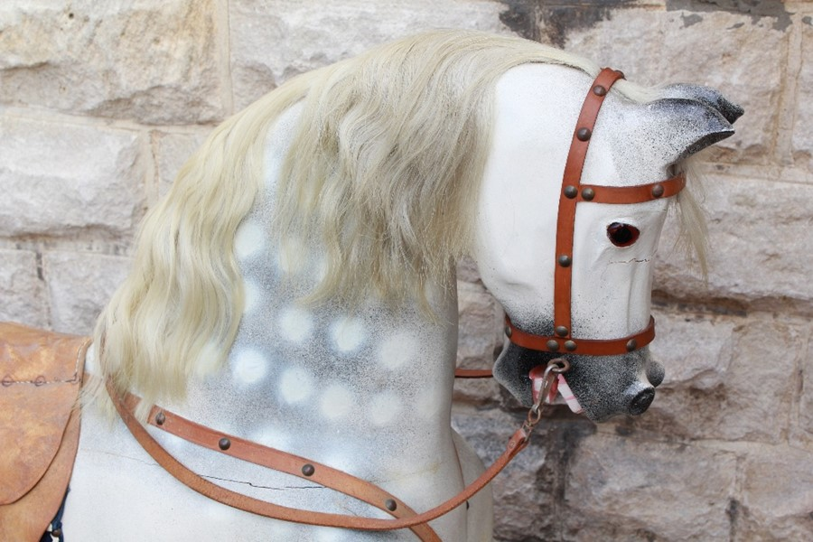 Lot 13 - A Vintage Rocking Horse