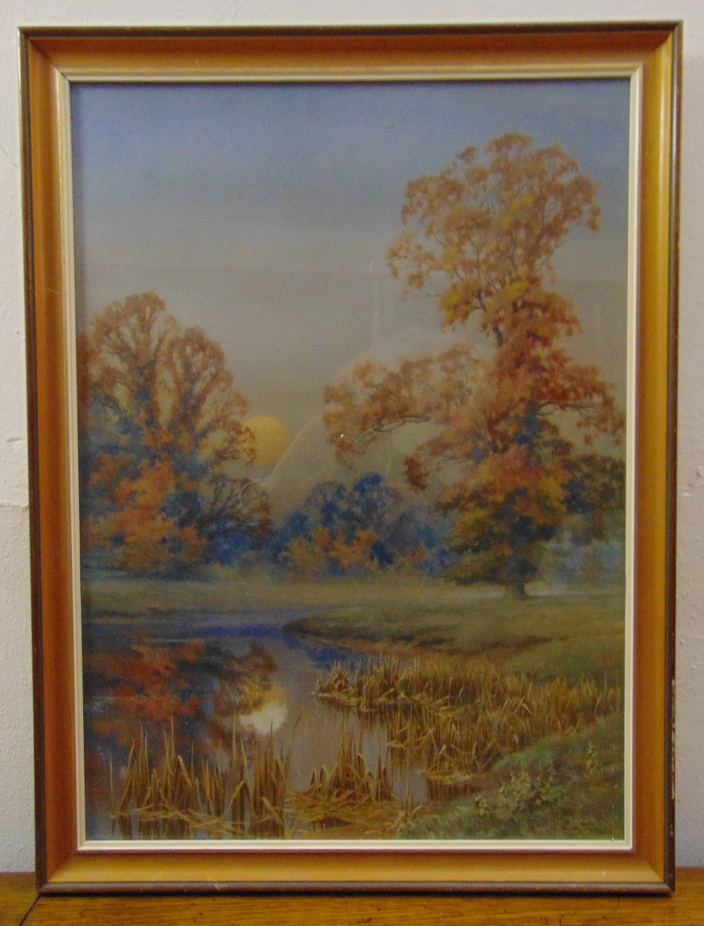 Lot 78 - Ernest Walter Twining (1875-1956) framed and glazed watercolour of a country landscape, signed
