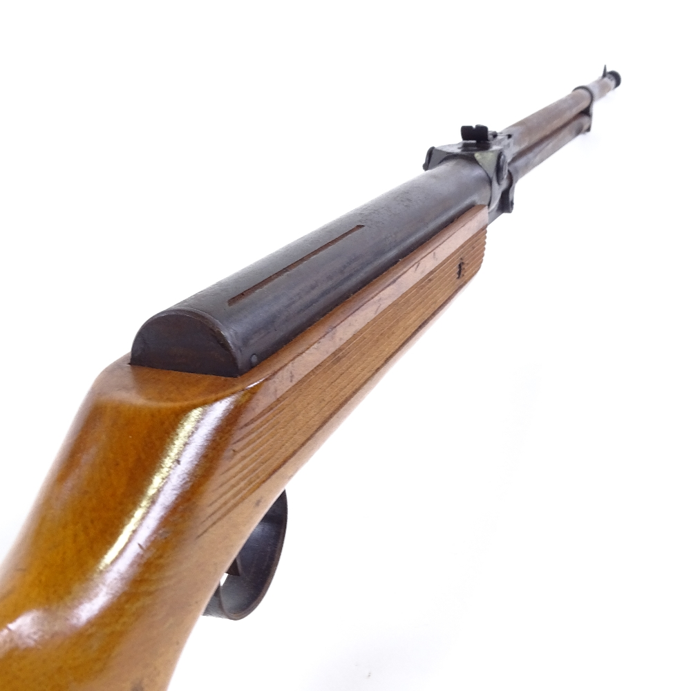 Lot 37 - A Relum Tornado air rifle, 0.22 calibre, under lever, circa 1970s, working order